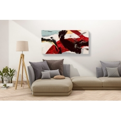 Wall art print and canvas. Jim Stone, Ride the Tiger