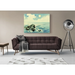 Wall art print and canvas. Uehara Konen, Kojima Island