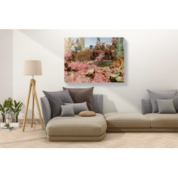 Wall art print and canvas. Lawrence Alma-Tadema, The Roses of Heliogabalus
