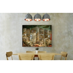 Wall art print and canvas. Giovanni Paolo Panini, Gallery of Views of Ancient Rome