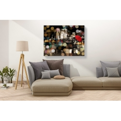 Wall art print and canvas. Dianne Loumer, A Kiss in the Night