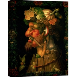 Wall art print and canvas. Giuseppe Arcimboldo, Autumn