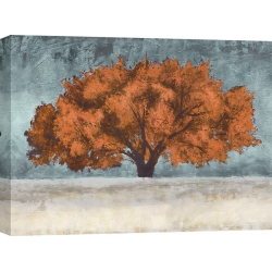 Cuadro árbol en canvas. Jan Eelder, Orange Oak